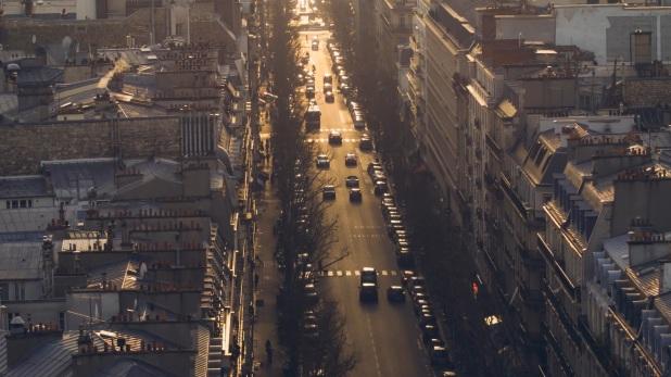 calme dans la ville